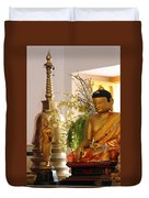 Buddha In India Duvet Cover