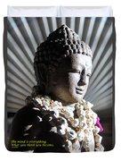 Buddha Mind Duvet Cover