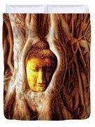 Buddha Of The Banyan Tree Duvet Cover