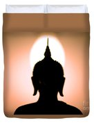 Buddha Silhouette Duvet Cover