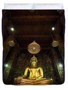 Buddha Sitting Duvet Cover