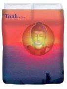 Buddha Sunset Duvet Cover