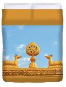 Buddha Symbol Duvet Cover