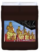 Buddhas Delight - Representations Of Buddhism Duvet Cover