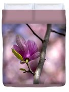 Budding Magnolia Duvet Cover
