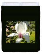 Budding Magnolia Duvet Cover