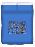 Budding Maples Duvet Cover
