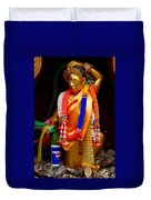 Buddism And Pepsi Shrine Duvet Cover