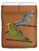 Budgies Duvet Cover