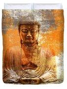Budha Textures Duvet Cover