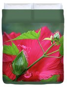 Buds Before Blooms Duvet Cover