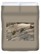 Buds Of Beauty Within Harshness Duvet Cover