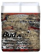 Budweiser Wood Art 5c Duvet Cover