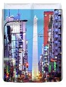 Buenos Aires Obelisk Duvet Cover