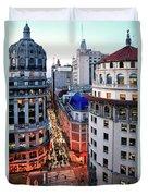 Buenos Aires Street I Duvet Cover