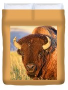 Buff In The Badlands Duvet Cover