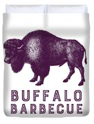 Buffalo Barbecue Duvet Cover