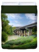 Buffalo Bayou Houston Duvet Cover