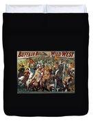 Buffalo Bill: Poster, 1908 Duvet Cover