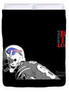 Buffalo Bills Football Team And Original Typography Duvet Cover