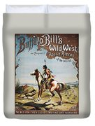 Buffalo Bills Show Poster Duvet Cover