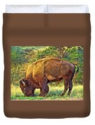 Buffalo Custer State Park  Duvet Cover