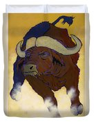 Buffalo Fury Duvet Cover