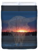 Buffalo Ghosts Duvet Cover