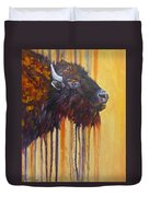 Buffalo Mania Duvet Cover
