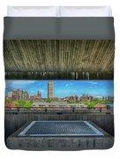 Buffalo New York Window Duvet Cover