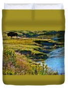 Buffalo River Bank Duvet Cover
