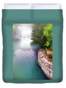 Buffalo River Mist Duvet Cover