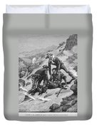 Buffalo Soldier, 1886 Duvet Cover