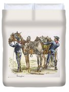 Buffalo Soldiers, 1886 Duvet Cover