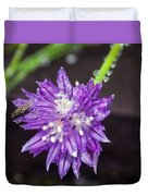 Bug Chilling Chive Duvet Cover