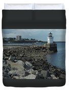 Bug Light Duvet Cover
