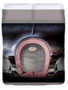Bugatti Veyron Legend Grille Emblem -0488ac Duvet Cover