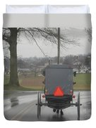 Buggy Ride After The Storm Duvet Cover