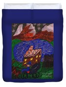 Buggy Ride Under The Stars Duvet Cover