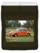 Bugs In The Patch Again Duvet Cover