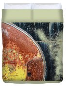 Buick Fender Abstract Duvet Cover