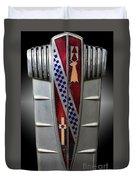 Buick Grill Emblem Duvet Cover