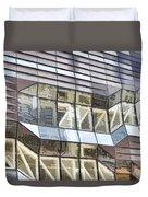 Building Closeup In Manhattan 10 Duvet Cover