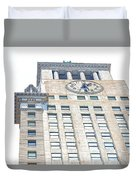 Building Closeup In Manhattan 11 Duvet Cover