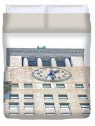 Building Closeup In Manhattan 12 Duvet Cover