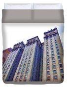 Building Closeup In Manhattan 14 Duvet Cover