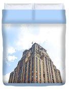 Building Closeup In Manhattan 2 Duvet Cover