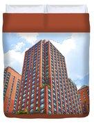 Building Closeup In Manhattan 6 Duvet Cover
