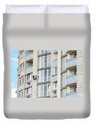 Building Facade Duvet Cover