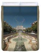 Bukarest Government Palace Duvet Cover